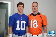 The Mannings, now with more orange.