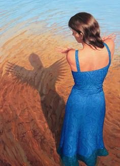 'Angels Hide From The Sun' #Painting by Yannick Bouchard