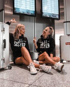 bff buts damitié mode twinstyle blondes meilleur ami meilleur ami fash Sisters Goals, Bff Goals, Friend Goals, Couple Goals, Bff Pictures, Best Friend Pictures, Friend Photos, Friends Mode, Cute Friends