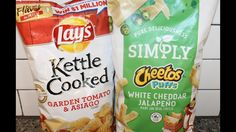 Lay's: Garden Tomato & Asiago and Cheetos Simply Puffs: White Cheddar Ja...