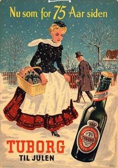 Billedresultat for danske reklame plakater Vintage Advertising Posters, Vintage Advertisements, Vintage Ads, Vintage Posters, Old Posters, Illustrations And Posters, Travel Posters, Denmark History, Beer Commercials