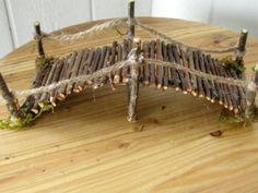 Pasarela de ramita jardín miniatura hecho a mano 7 por CLOUDFAIRY