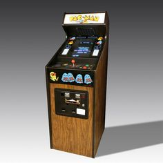 Original 1980 Upright Pac-Man Machine from The Games Room Company's selection of Retro Arcade Machines Vintage Games, Retro Vintage, Luxury Gifts For Men, Retro Arcade Games, Presents For Men, Game Room, Pac Man, The Originals, Antiques