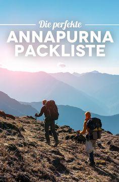 Annapurna Circuit Packliste – So packst du den Rucksack richtig für die Umrundung des Annapurna