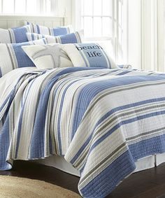 Look what I found on #zulily! Key West Quilt Set #zulilyfinds