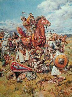 Bataille de d'Hastings  - 1066