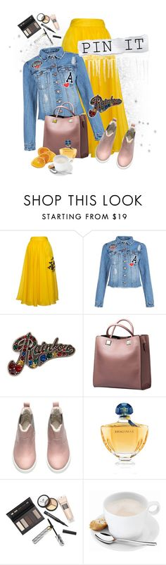 """""""#pins***"""" by ksenia-lo ❤ liked on Polyvore featuring Parlor, New Look, Marc Jacobs, Guerlain, Borghese, WMF and pins"""