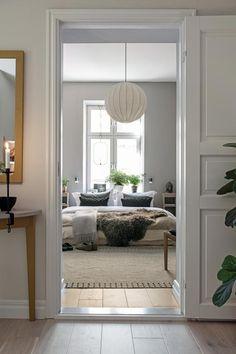 Best Home Decoration Ideas Luxury Bedroom Design, Modern Bedroom Decor, Master Bedroom Design, Bedroom Vintage, One Bedroom Apartment, Home Bedroom, Home Interior, Interior Design, Bedroom Wall Colors