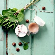 Make this soothing chocolate mint lip balm in less than 15 minutes.