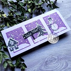 Snowman Images, Hero Arts Cards, Image Theme, Card Making Templates, Winter Cards, Card Kit, Bold Prints, Clear Stamps, Art Blog