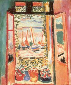 """A Janela Aberta"" (1905) Henri Matisse"