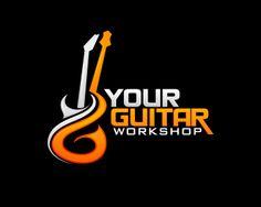 Pix For > Guitar Logo Design