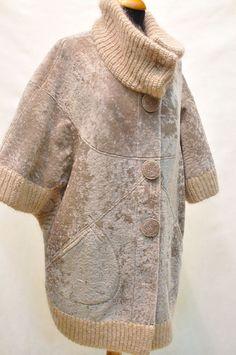I see this done using TSW Chateau Jacket pattern. 90s Fashion, Hijab Fashion, Boho Fashion, Winter Fashion, Fashion Dresses, Womens Fashion, Fashion Design, Winter Mode, Mode Hijab