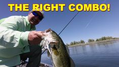 The best combo for chatterbaits (rod, reel, and line) will help you catch more fish. Choosing the right fishing gear for bladed jigs is explained in this video. Bass Fishing Videos, Line, Fishing Line