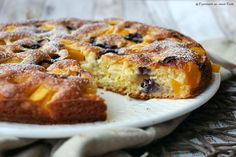 Blaubeer-Mango-Tarte   Kuchen   Backen   Rezept   Weight Watchers, Heidelbeeren, Heidelbeer-Mango-Tarte, Leichte Rezepte, Kalorienarm