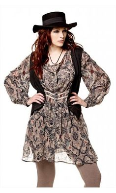Plus Boho Clothing Plus size boho chick