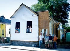 Historic Charleston Foundation's (HCF) Neighborhood Impact Project, Charleston Habitat for Humanity, and the city's Department of Housing and Community Development.