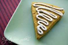 gluten-free pumpkin scones.  I have a similar recipe that I make that does not use sorghum flour or millet flour but has 1 1/2 c brown rice flour, 1/2 c tapioca flour, and is not dairy free using 7 tbsp butter, 1 egg, 3 tbsp buttermilk and for the glaze use 1 tbsp milk.  All else is the same.  Very good.  Freezes well.  And I use the leftover pumpkin in the can for Turkey Pumpkin Chili!