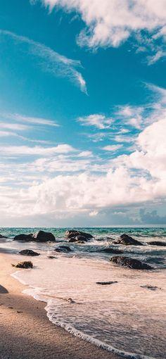 sea side beach iPhone 12 Wallpapers