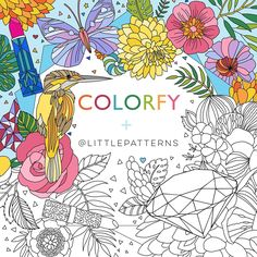 """Check out this @Behance project: """"Colorfy x Littlepatterns"""" https://www.behance.net/gallery/45235799/Colorfy-x-Littlepatterns"""