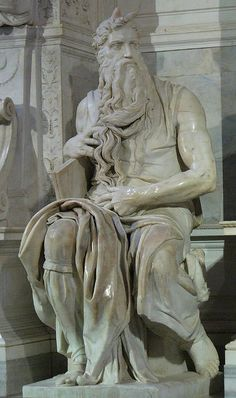 Michelangelo's Moses by lithics50, via Flickr