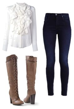 """""""Mila's casual wear"""" by pantsulord on Polyvore featuring Chloé and Venus"""