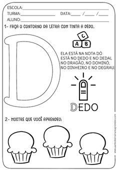 Atividade pronta - Alfabeto: Letra D