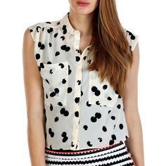 DV by Dolce Vita: Makena Top Black White