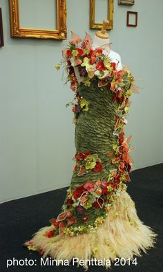 Party dress - RHS Chelsea Flower Show 2014 - RHSChelsea18