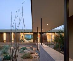 Una residencia en tres rectángulos, estilo moderno en Arizona