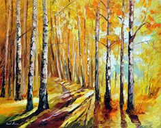 SUNNY BIRCHES - Oil painting by Leonid Afremov. One day offer - $99 include international shipping https://afremov.com/SUNNY-BIRCHES-PALETTE-KNIFE-Oil-Painting-On-Canvas-By-Leonid-Afremov-Size-24x30.html?bid=1&partner=20921&utm_medium=/offer&utm_campaign=v-ADD-YOUR&utm_source=s-offer