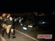 Polícia Militar de Campo Mourão recupera veículo roubado em posse de dois adolescentes