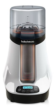 The Baby Brezza Safe + Smart Bottle Warmer features two warming options: steady for breast milk or fast for formula Bottle Feeding Newborn, Baby Feeding, How To Defrost Breastmilk, Best Baby Bottles, Baby Bottle Warmer, Baby Bottle Sterilizer, Baby Food Jars, Baby Supplies, Small Bottles