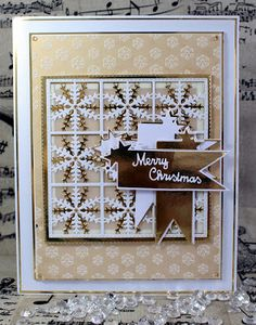 Die Cut Cards, Next Door, Happy Holidays, Christmas Cards, Merry, Doors, Crafty, Frame, Card Ideas