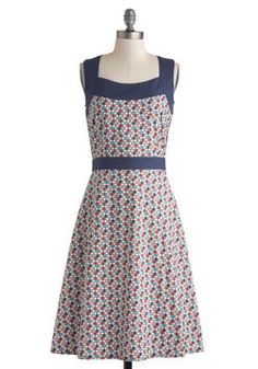 Honeycomb Away From Home Dress, #ModCloth