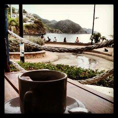 Coffee time in Taganga - Santa Marta - Colombia