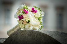 bridal flowers I by Hannelore Kirchner on Bridal Flowers, Salzburg Austria, Ethnic Recipes, Wedding, Food, Pentecost, Wedding Bride, Valentines Day Weddings, Weddings
