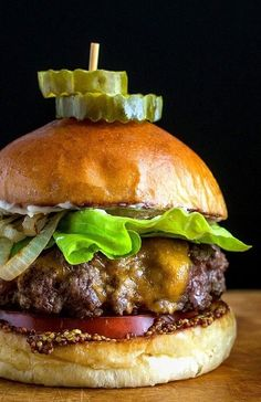 "TAVERN-STYLE HAMBURGER ~~~ tips, tricks, and advice taken from an article titled, ""deconstructing the perfect burger"". [Sam Sifton] [nytimes]"