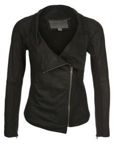 Buy Black Muubaa Leather jacket for woman at best price. Compare Jackets  prices from online stores like Zalando - Wossel United States f50ccdc3c014