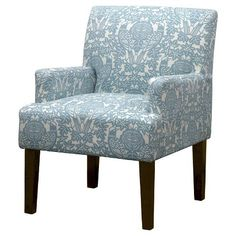 Seedling by Thomas Paul Arm Chair - Briar Aqua