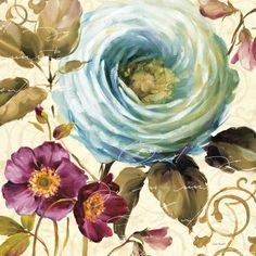 Love the soft touch of watercolor, really updates the look of botanicals!