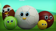 Hey kids, today on Finger Family we have some of your favorite sports characters such as the football, the tennis ball, the golf ball teaching you little toddlers all about the five fingers! Play the video above to watch your sports balls come alive! #sportsball #fingerfamily #fingerplay #nurseryrhymes #kidsrhymes #rhymesforkids #kidssongs #babysongs #educational #entertainment #kids #parenting #babies #toddlers