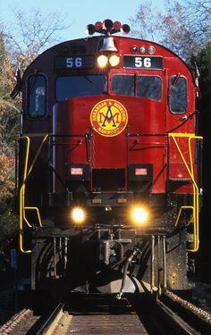 Arkansas and Missouri Railroad, Alco C-420, passenger train, Ozark Mountains