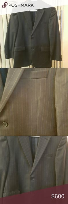 Mens- Burberry men's suit blazer (limited edition) Burberry London limited edition from Barneys new york men's blazer. In perfect condition like new no flaws ... Burberry Suits & Blazers