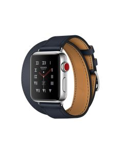 Big Discount New Genuine Leather Band for Apple Watch Series 4 3 2 1 Double Tour Bracelet Leather Strap Watchband sport woman エルメス Apple Watch, Bracelet Apple Watch, Hermes Apple Watch, Bracelet Hermès, Hermes Watch, Apple Watch Series 2, Cool Watches, Watches For Men, Wrist Watches