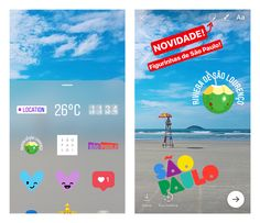 Today, we're introducing geostickers in Instagram Stories for São Paulo. When you take a photo or video and tap the sticker icon, you'll see geostickers at the top. No matter where you are in São P…