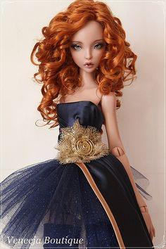 Lillycat Ellana par Urszula Sieczek - True Dolls
