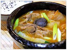 Korean Style Pork Bone Potato Stew (Gamjatang)