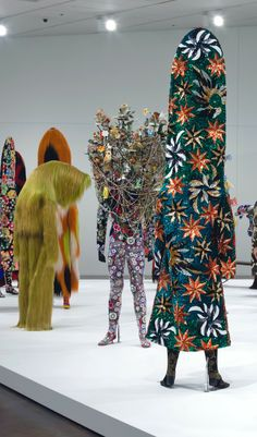 """Second Skin"" exhibition designed by Nick Cave and Bob Faust."