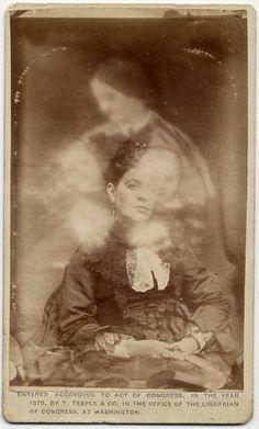 spirit photography..vintage photograph